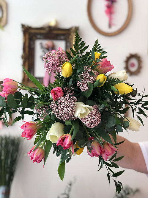 Bouquet Solo Tulipani (da € 25 a € 120)