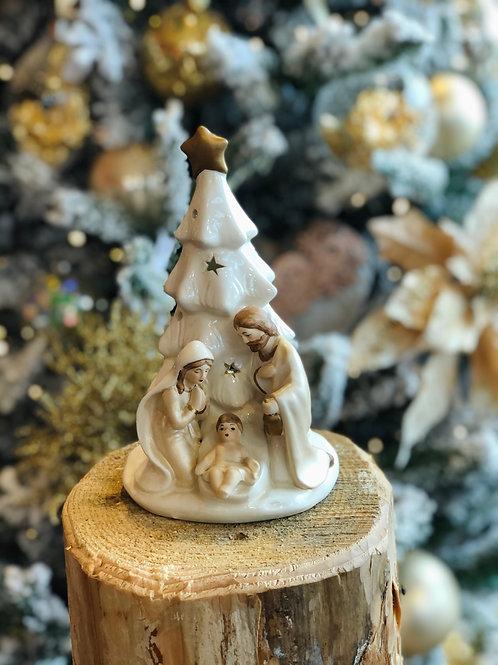 Natività in ceramica