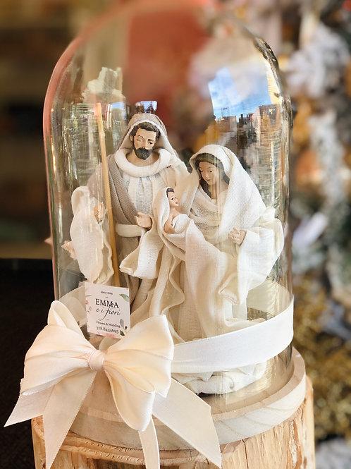 Campana di vetro Natività