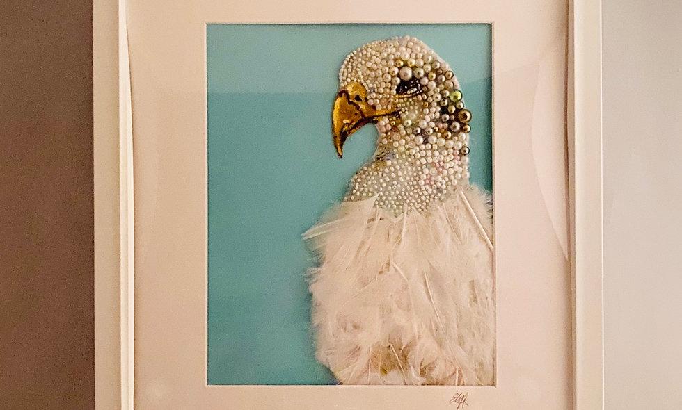 Bead Embroidery Big Bird