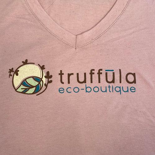 Tee Shirt (V-Neck Truffula Women's Size XL)