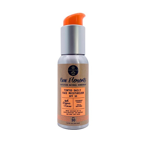 Sunscreen (Reef Safe Face Moisturizer-Tinted)
