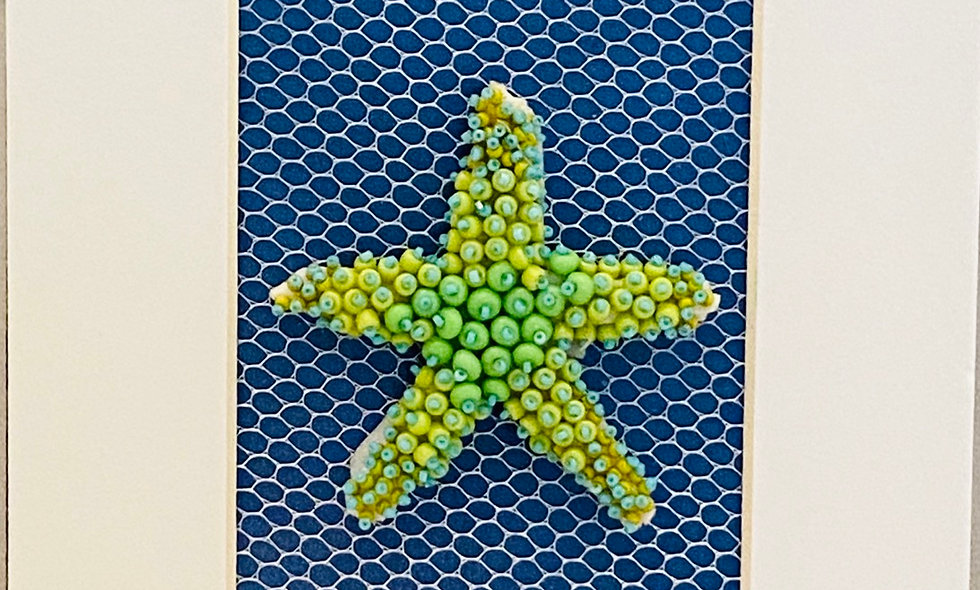 Bead Embroidery Sea Star