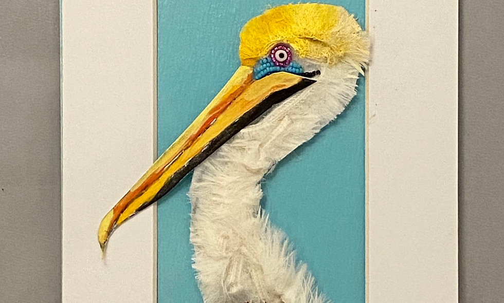 Bead Embroidery Pelican
