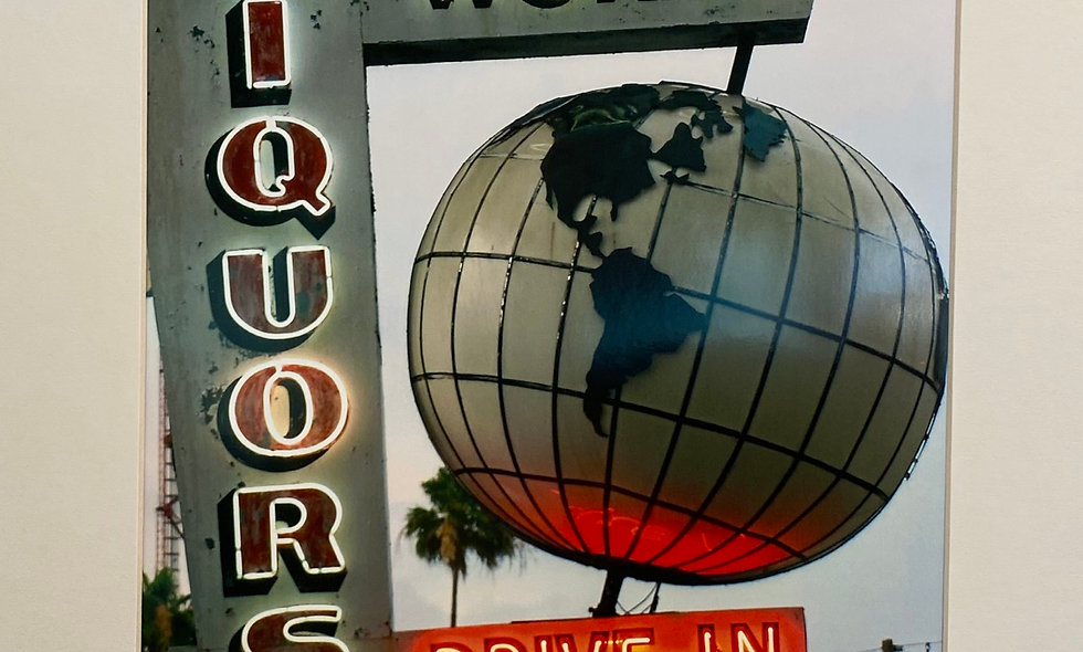 Photograph-World Liquors Framed