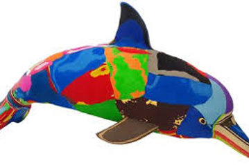 Flip Flop Sculpture (Dolphin)