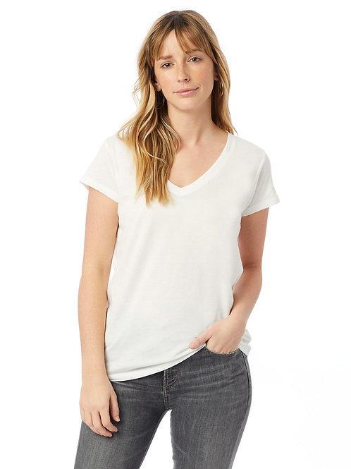 Tee Shirt (V Neck Truffula Women's Sz S)