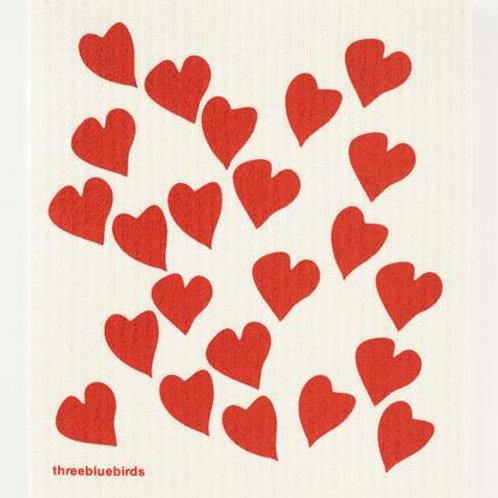 Reusable Dishcloth (Love)