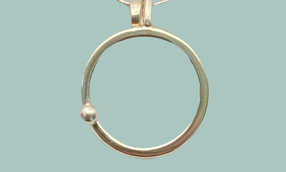 Necklace-Circle Dot