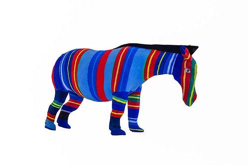 Flip Flop Sculpture (Zebra)