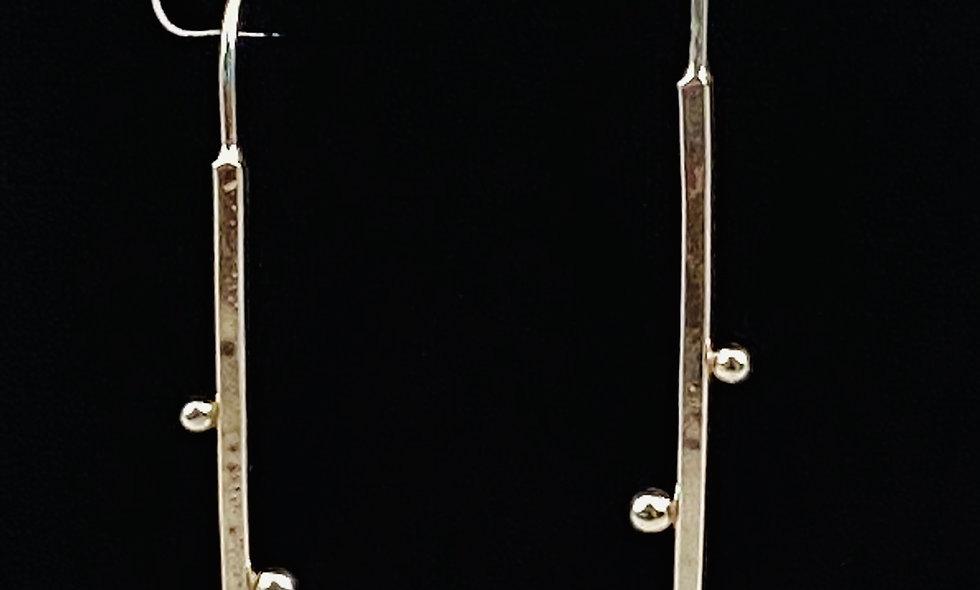 Earrings-3 Spheres