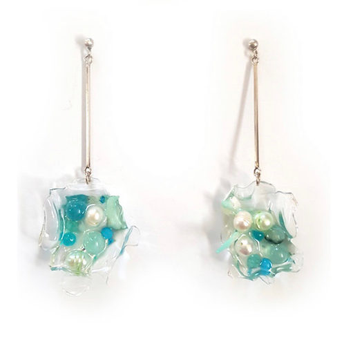 Earrings (Recycled Plastic)