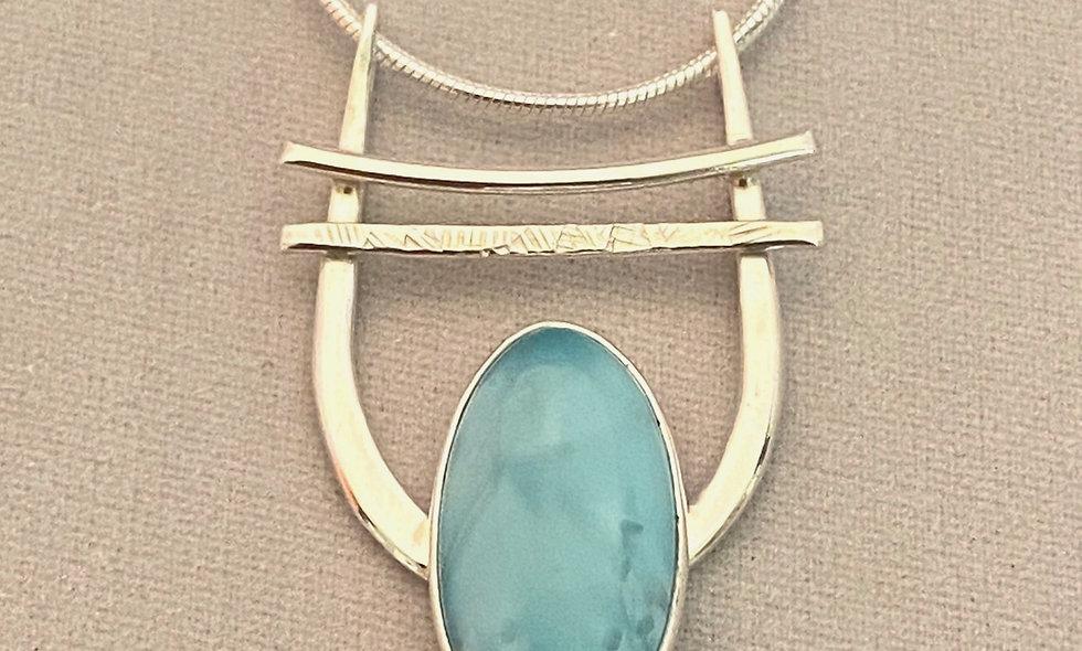 Necklace-Larimar
