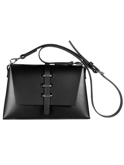 Triple Bridge Shoulder Bag