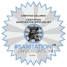 CHRISTINA_GALLARDO_Sanitation_Standards_
