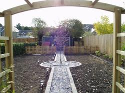 back of town garden