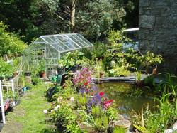 greenhouse and pool j