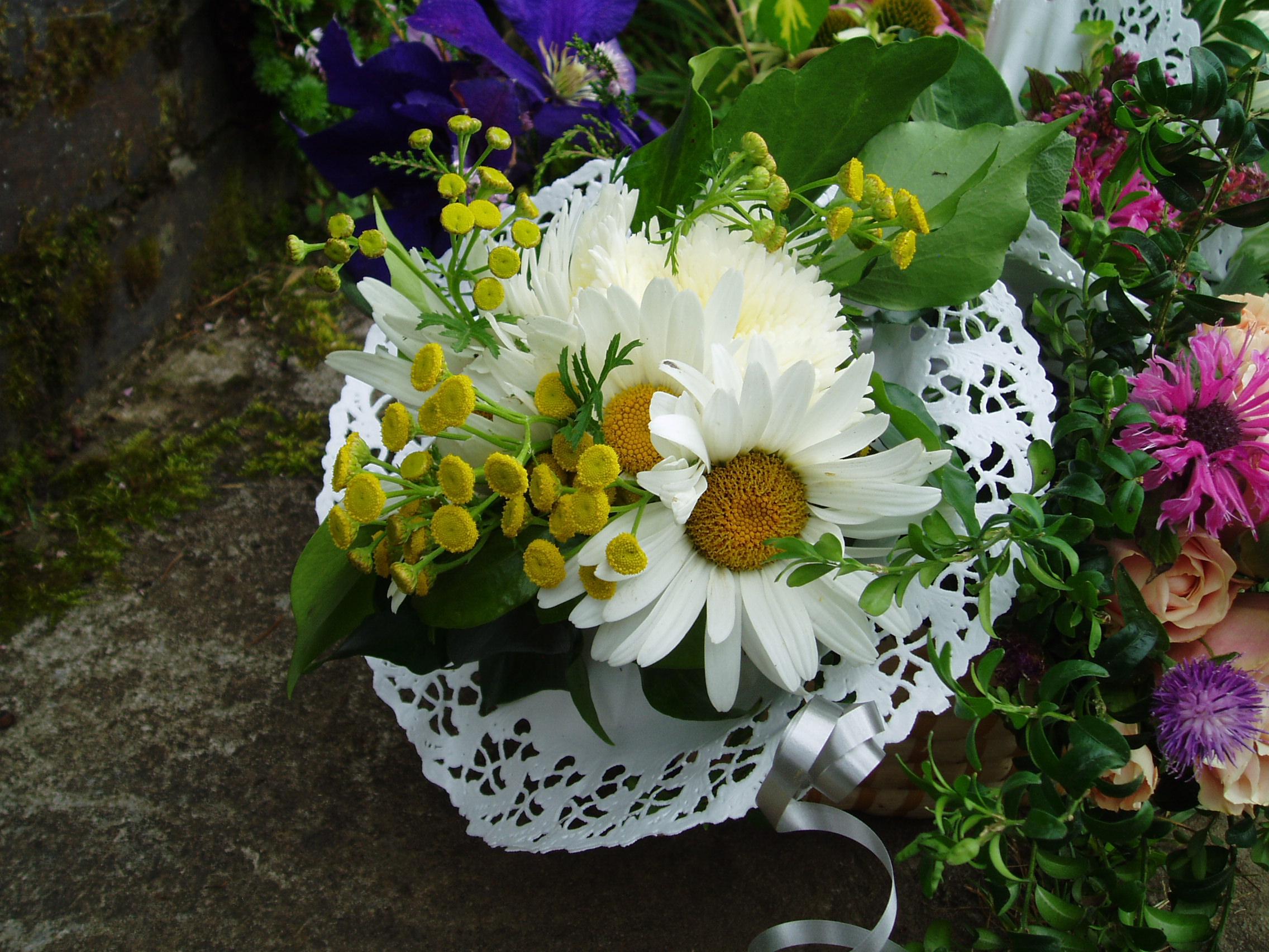Victorian flower posy