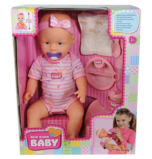 Simba New Born Baby Puppe - Mädchen