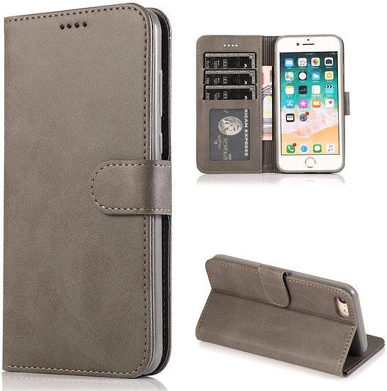 Schutzhülle für iPhone 7 / iPhone 8, Hülle Handyhülle Leder Klapphülle