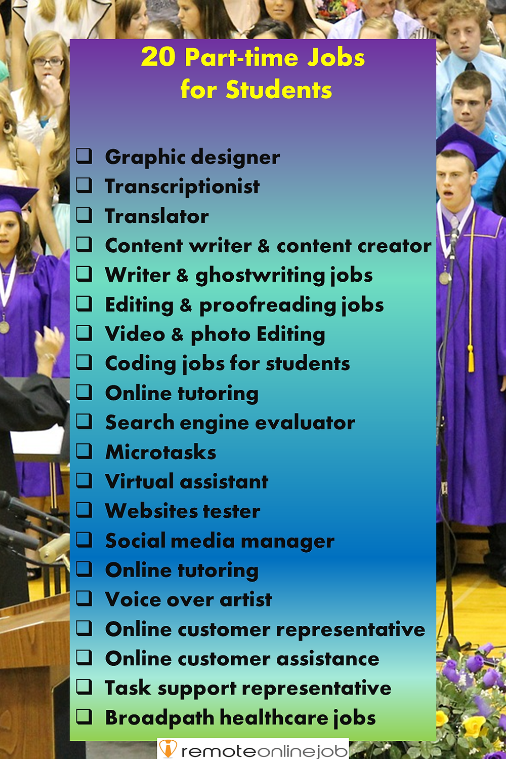 Part Time Jobs For Students Remote Jobs For Students