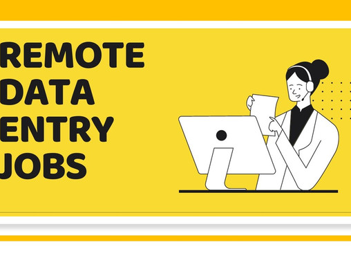 Remote Data Entry Jobs