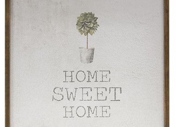 TOPIARY HOME SIGN