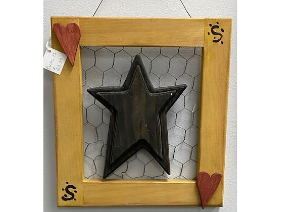 PRIMITIVE STAR COOP WIRE HANGING