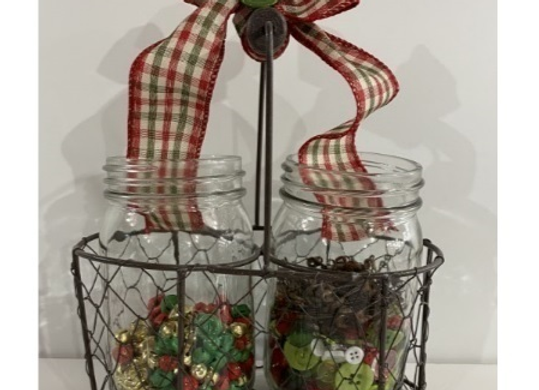 SEWING DOUBLE JAR SET