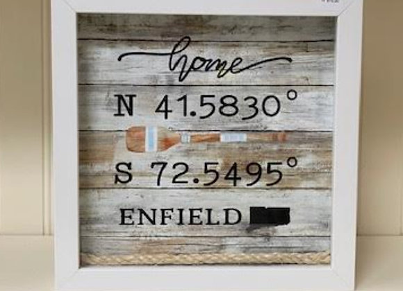 ENFIELD LONGITUDE SHADOW BOX