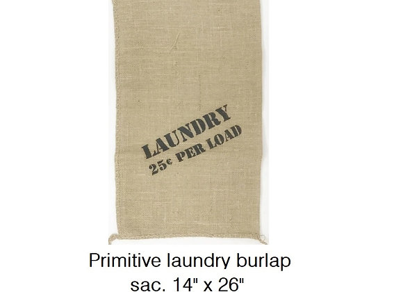 PRIMITIVE LAUNDRY BAG