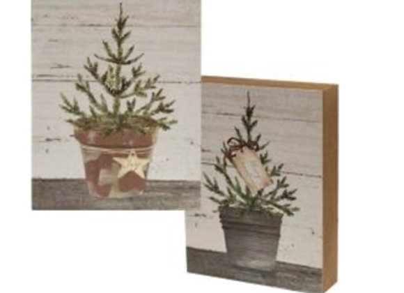 HOLIDAY BOX SIGN - 2 STYLES