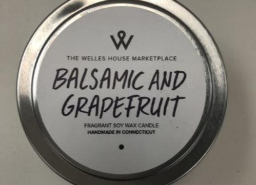 BALSAMIC GRAPEFRUIT CANDLE TIN