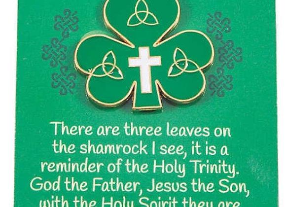IRISH PIN CARD