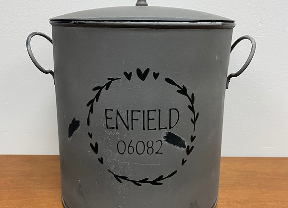 ENFIELD GRAY CANISTER