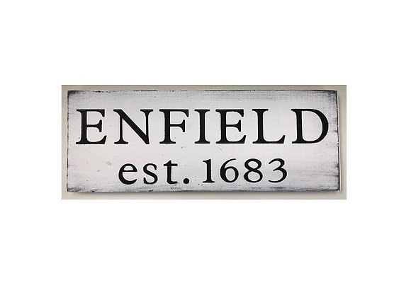 ENFIELD TOWN SIGN