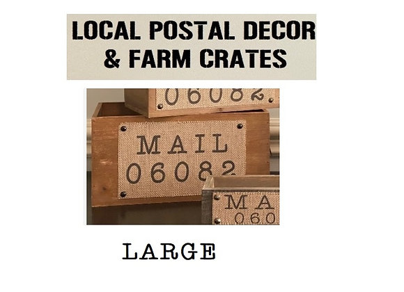 MAIL CRATE LARGE