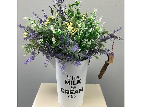 MILK CAN FLORAL