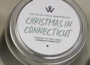 CHRISTMAS IN CT CANDLE TIN