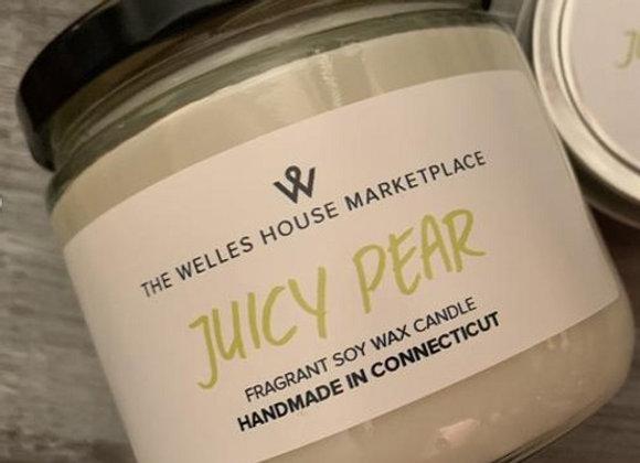 JUICY PEAR JAR CANDLE