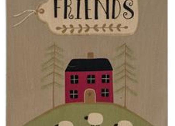 FRIENDS SCENE SIGN