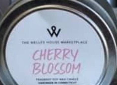 CHERRY BLOSSOM CANDLE TIN