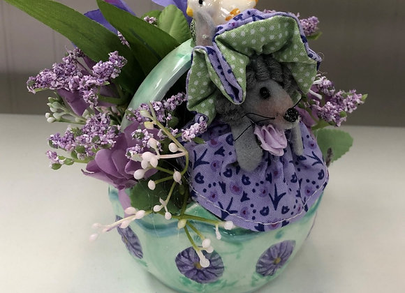PURPLE MOUSE FLORAL