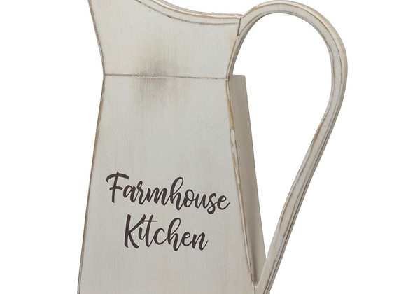 FARMHOUSE WALL PITCHER