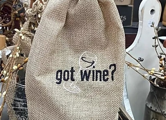 HOSTESS WINE BAGS FOR JULY 4TH COOKOUTS~ 6 STYLES
