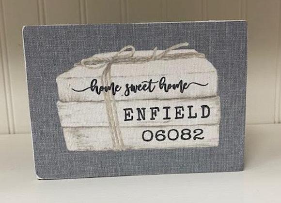 ENFIELD BOOK BLOCK SITTER