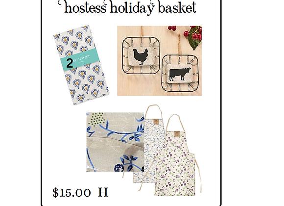 HOSTESS HOLIDAY GIFT BASKET