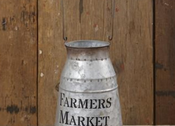 FAMERS MARKET MILK CAN