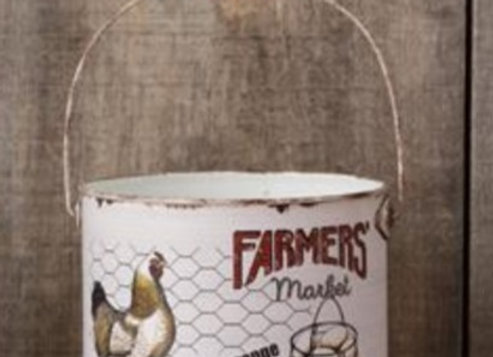 FARMERS MARKET BUCKET LARGE