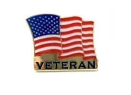 FLAG VETERAN PIN